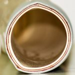 NBR Rubber Food Hose - 3A - Grey Close-Up