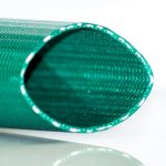 PVC Green Heavy Duty Water Discharge Close-Up