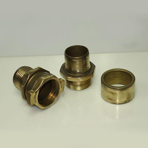 Petroleum Brass Male and Female