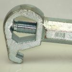 Universal Hydrant Wrench Close-Up